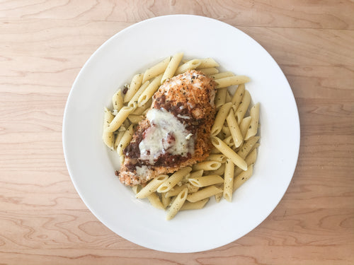*Fresh* Bruschetta Chicken with Parmesan Pasta