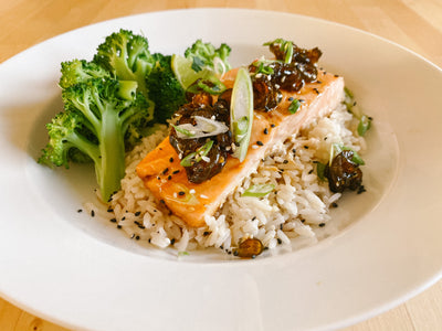 *Fresh* Jalapeno & Honey Glazed Salmon