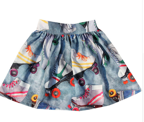 Rock and Roll(er) Skate Skirt
