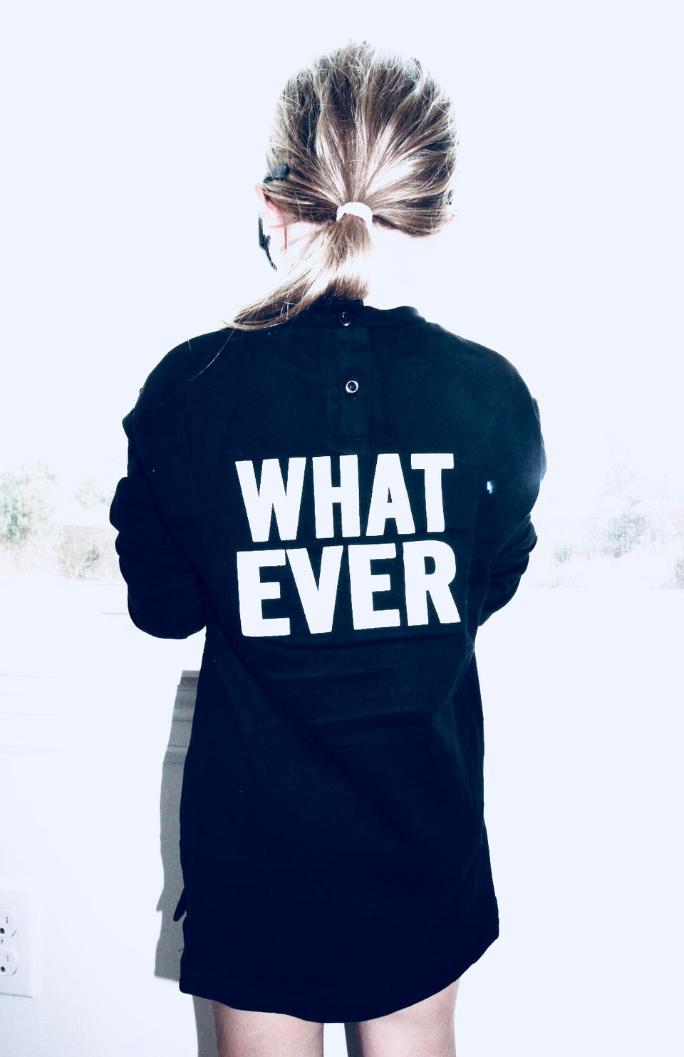 Whatever sweatshirt dress