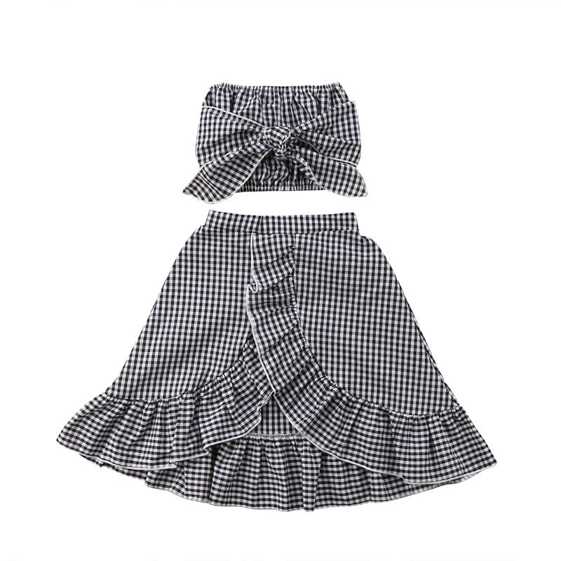 Pretty little picnic skirt set