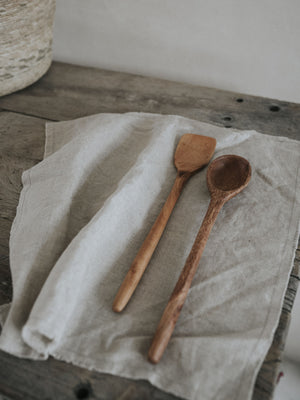 Wooden Spoon and Spatula set