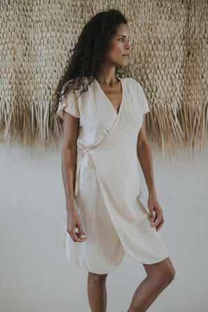 Arena Short wrap Dress