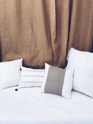 Khaki Serenity Pillow cover