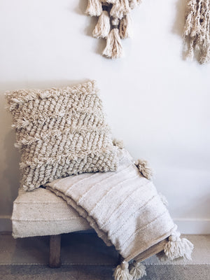 Wool Pillow Cover - Bertha