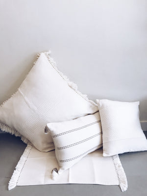 Off White Meditation Pillow cover