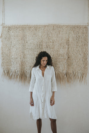 Linen Shirtdress - Palmas