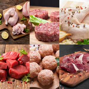 SINGLE BOX 15 LBS BEEF CHICKEN LAMB - Free Shipping