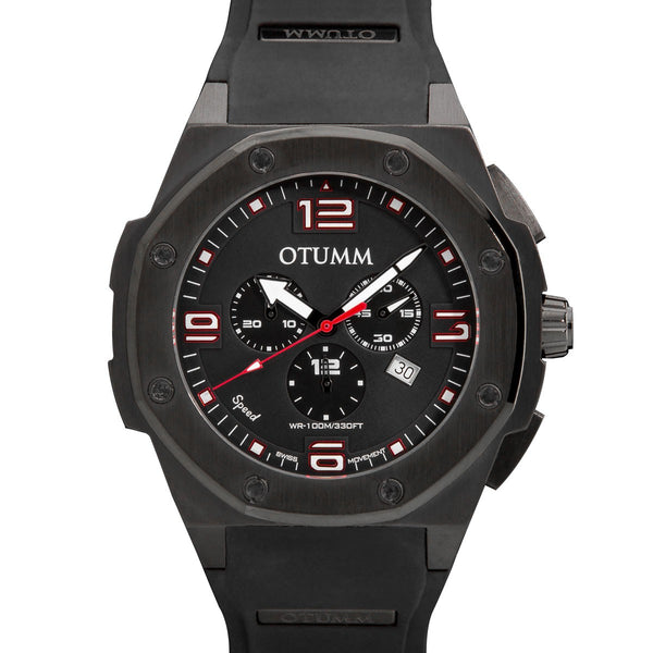 Speed Chronograph Black Case 53mm