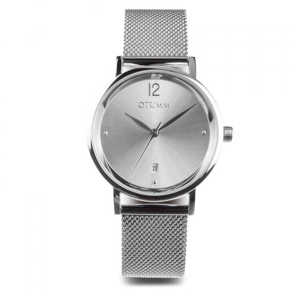 Mesh Lady Steel Calendar 36mm