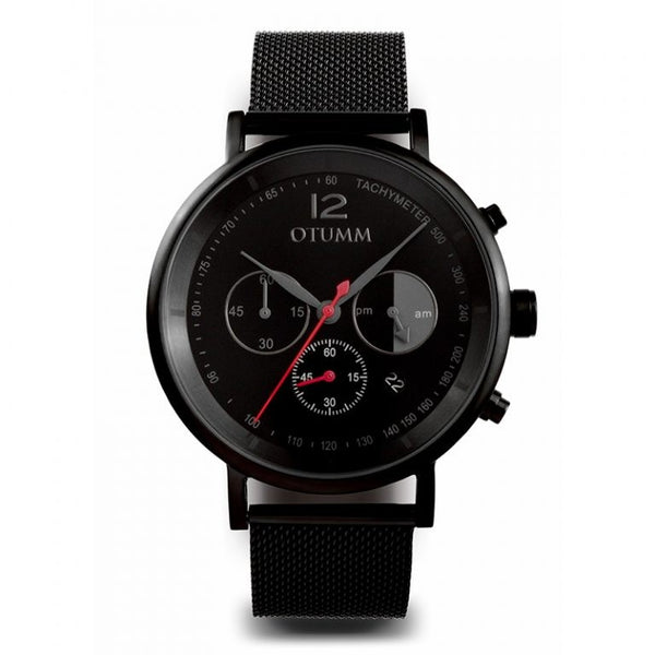 Mesh Man Black Chrono 43mm