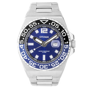 Athletics II Steel Strap Calendar 45mm