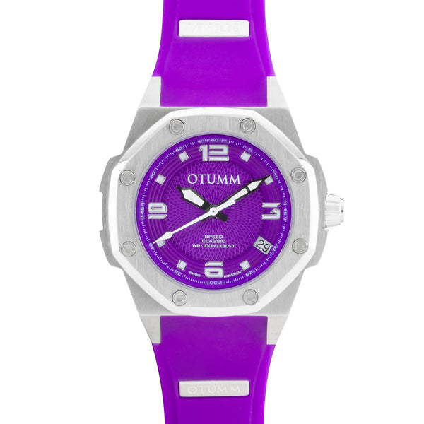 Classic Steel Purple 39mm