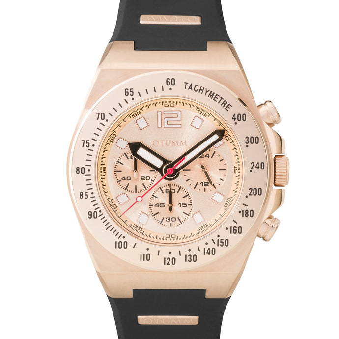 Athletics Rose Gold Rose Gold 02 45mm