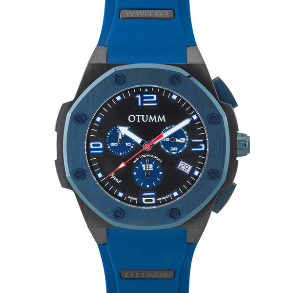 Speed Chronograph Blue Case 45mm