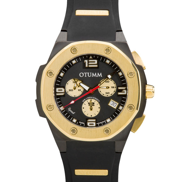 Speed Chronograph Gold Case 45mm