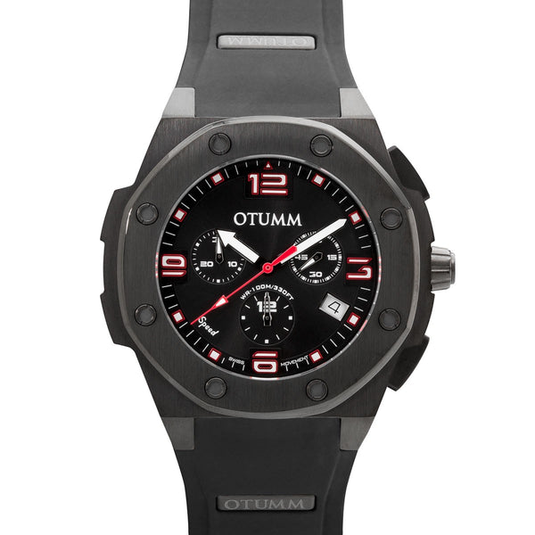 Speed Chronograph Black Case 45mm