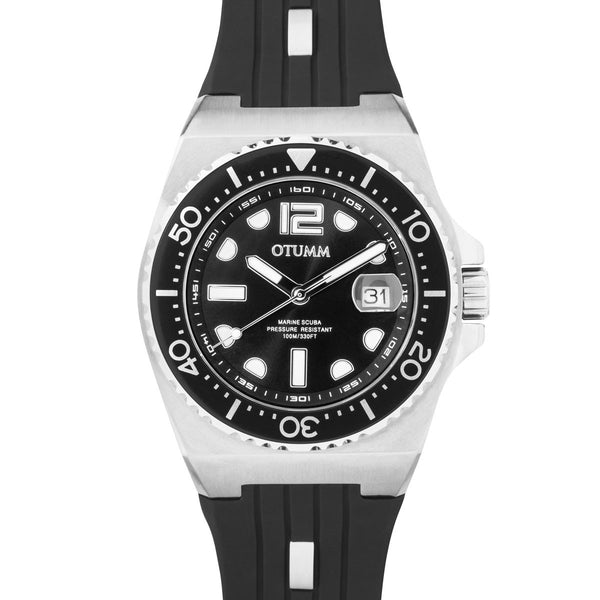 Sea Breeze Steel Black Strap 40mm