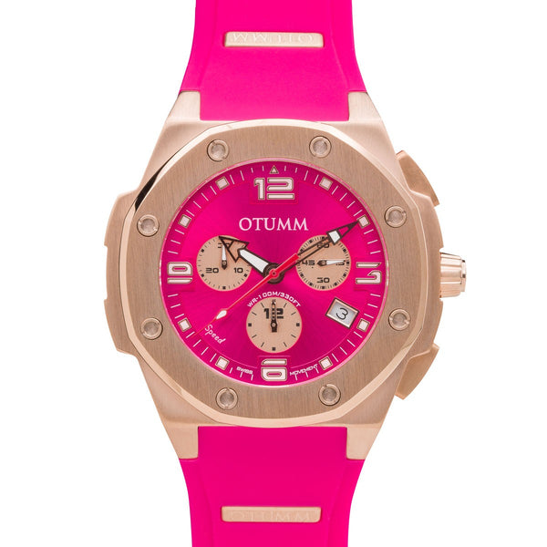 Speed Rose Gold 006 Pink 45mm