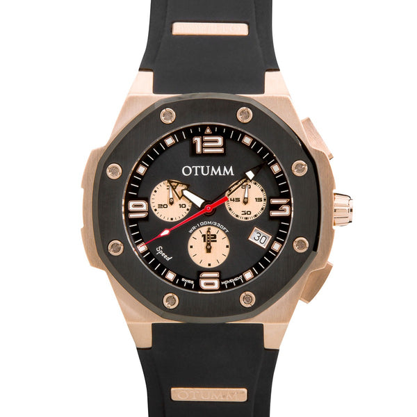 Speed Rose Gold 005 Black 45mm