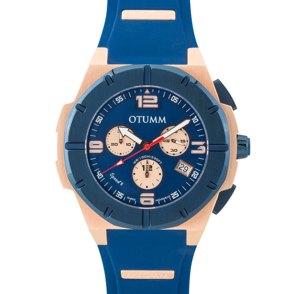 Speed II Chronograph Blue 45mm