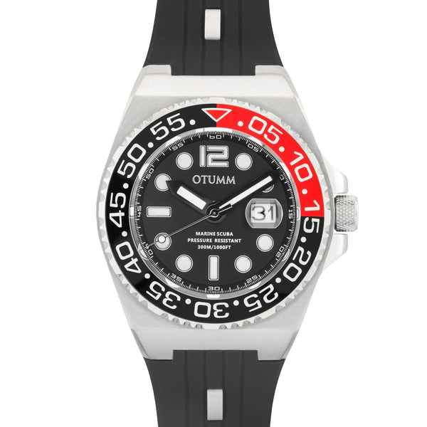 Scuba Steel Black 45mm/52mm