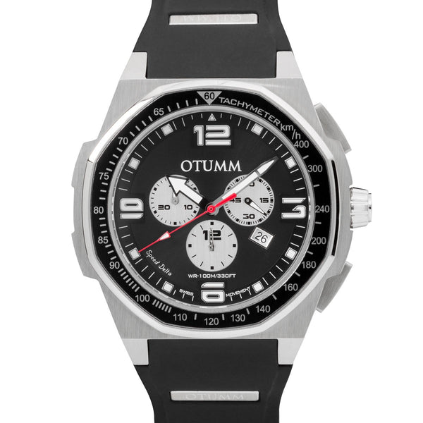 Speed Delta Chronograph Steel Case 53mm