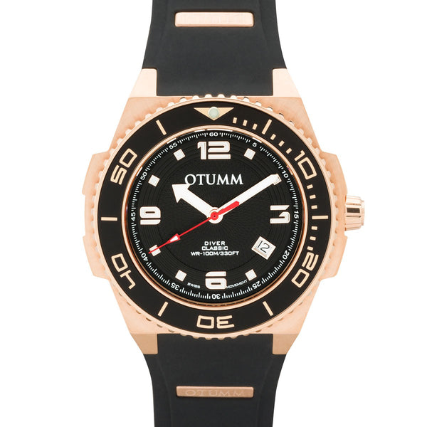 Diver Rose Gold Black 45mm