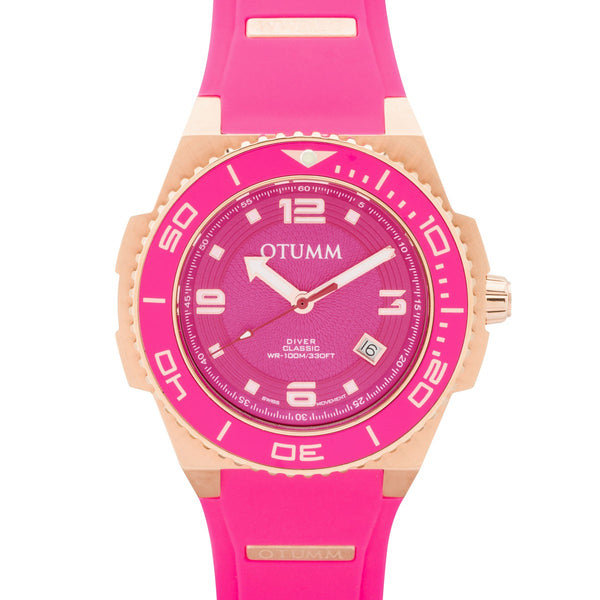 Diver Rose Gold Pink 45mm