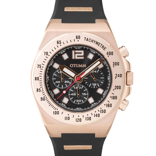 Athletics Chrono Rose Gold Dark 01 45mm