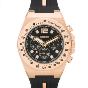Athletics Chrono Rose Gold Dark 45mm
