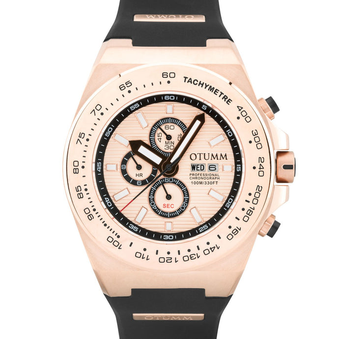 Day Date Rose Gold 02 Rose Gold Bezel 52mm