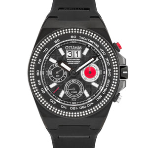 SG Bezel Diamond Big Date Black 52mm Black