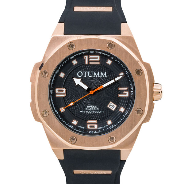 Speed Calender Rose Gold 53mm