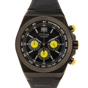 Big Date Black Yellow 45mm