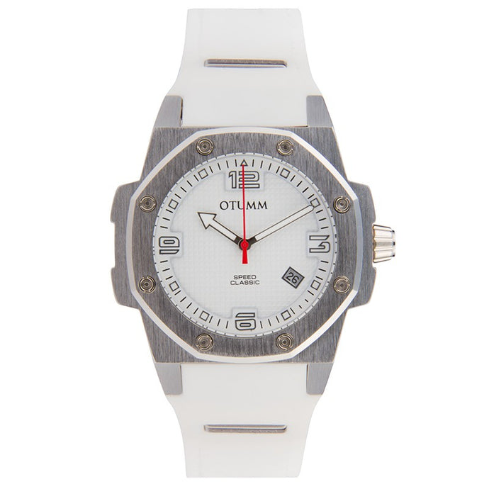 Classic Speed 41mm Steel White