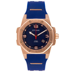 Classic Speed 41mm Rose Gold Blue