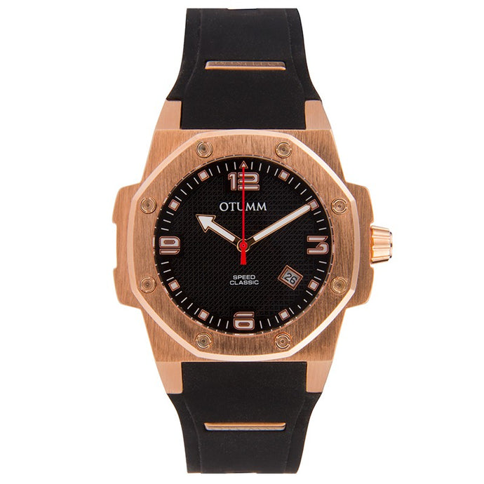 Classic Speed 41mm Rose Gold Black
