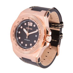 Automatic Black Leather 45mm