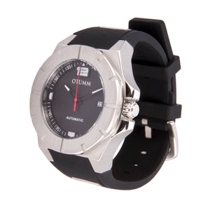 Automatic Steel Black Silicone 45mm