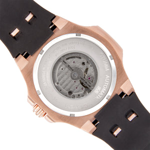 Automatic Rose Gold Silver Dial 45mm