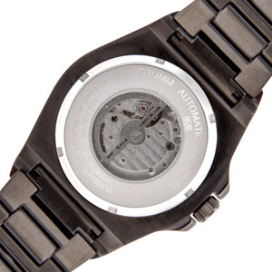 Automatic Metal Black Strap 45mm