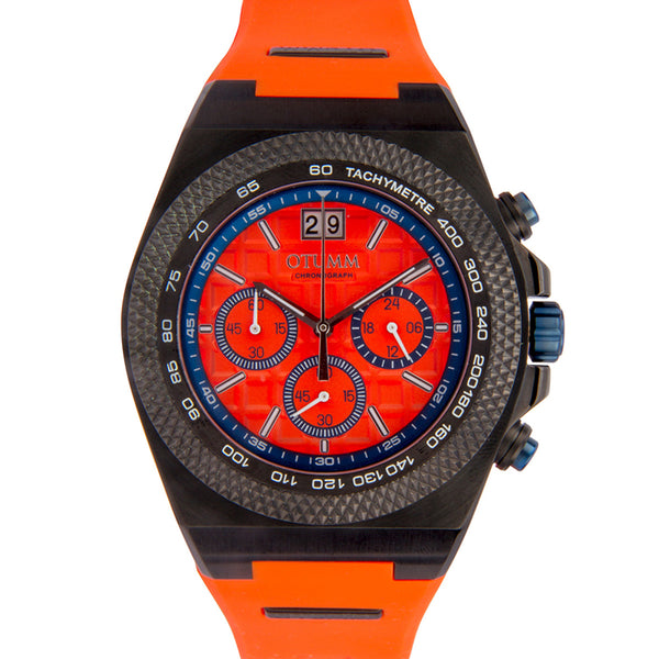 Big Date Black Orange 45mm
