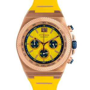Big Date Rose Gold Yellow 45mm