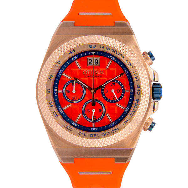 Big Date Rose Gold Orange 45mm