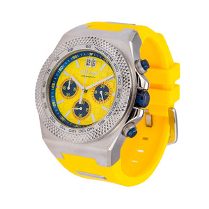 Big Date Steel Yellow 45mm