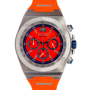 Big Date Steel Orange 45mm