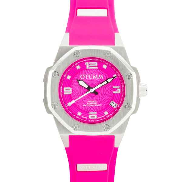 Classic Steel Pink 39mm