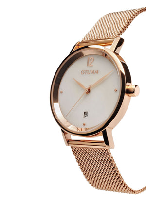 Mesh Rose Gold MOP dial 36mm