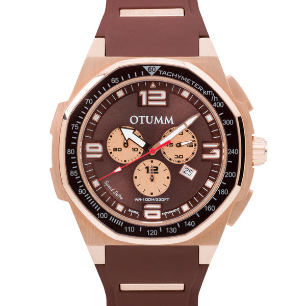 Speed Delta Chronograph Rose Gold 45mm
